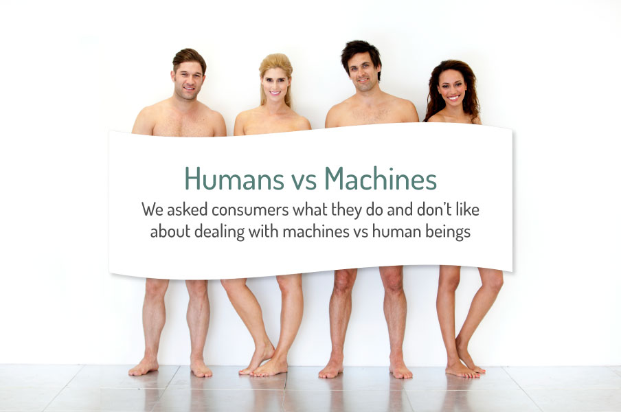 human vs machine