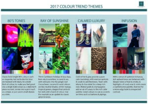 2017 Colour Trend Stories